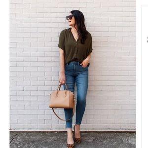 Madewell | Mid Rise Skinny Jean
